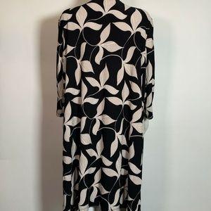 Kasper Sweaters - Kasper Cardigan 3/4 Sleeves Open Front Sz 3X Plus